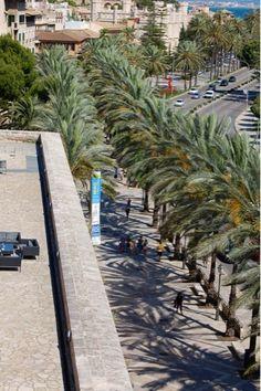 living rooms: Palma de Majorca from Es Baluard