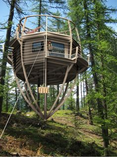 This looks like an awesome treehouse to me