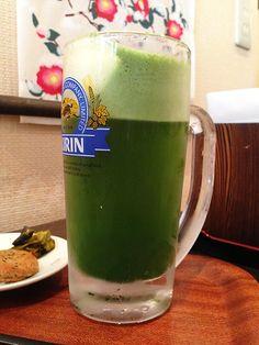 Green Tea Beer and Tea Shop Morinoen Tokyo, Chuo Ward, Nihonbashi, Ningyo-cho 2-4-9