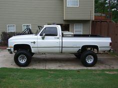 85 Chevy 3/4 Ton