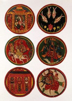 Cards, India 1980 | V