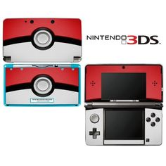 Pokemon Pokeball Decorative Video Game Decal Cover Skin Protector For Nintendo 3Ds (Not 3Ds Xl), 2015 Amazon Top Rated Faceplates, Protectors & Skins #VideoGames