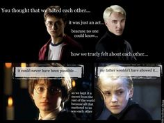 Drarry! Somebody asked me to make this for my facebook page, hope you like it!   | Harry Potter | Draco Malfoy | Hogwarts | Hermione Granger | Ron Weasley | Drarry | Fanfiction | Head cannon | Magic | J. K. Rowling | Love | Ship | HarryAndDraco | Gryffindor | Ravenclaw | Hufflepuff | Slytherin | Wizard | Witch | Dumbledore | Snape | McGonagall |