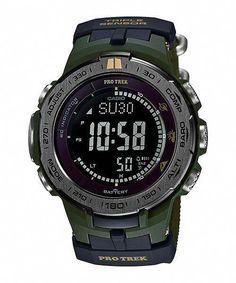51ea6c10dd77 Casio-ProTrek-PRW-3100G-3 l Relojes Digitales  DigitalWatch  Trindu
