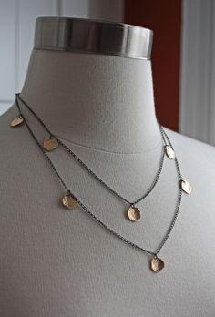 Image of Long Petal Necklace