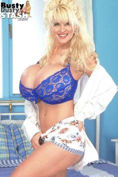 Donita dunes huge fake tits white bikini