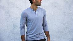 Merino Henley | Proof NY // tailored clothing + technical fabrics