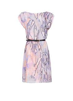 MANGO - Gemustertes Kleid