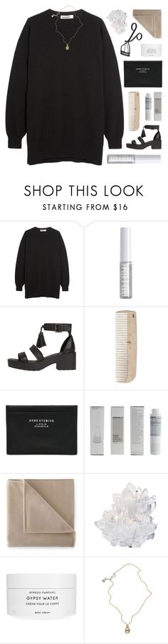 """~you gonna hit me like a lightning /11/"" by emmas-fashion-diary ❤ liked on Polyvore featuring Jil Sander, Lord & Berry, HAY, Acne Studios, Korres, Martex, McCoy Design, Byredo, Jessica de Lotz Jewellery and Surratt"