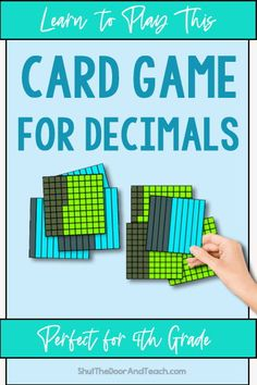 Learn more about teaching decimals. Get ideas for anchor charts and games. Click to read on Shut the Door and Teach. #math #upperelementary $ Teaching Decimals, Math Fractions, Upper Elementary Resources, Elementary Math, Fourth Grade Math, Common Core Math, Teacher Blogs, Math Classroom, Anchor Charts