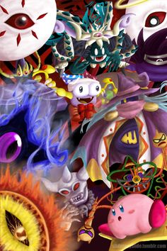 Boss Rush by fighterkirby12.deviantart.com on @DeviantArt