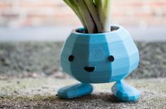 Cool little pot for your plants. By CarryTheWhat. at: http://ift.tt/1l9uiPM  #fox #green #3d_printer #plants #blue #3d_printing #3d_print #3d_printer_on_action #3d_printers #3d_printed #3d_print64 #3dprintspb #3dprinting #3dprint #3dprinter #3dprinted #3dprinters #3dprints #cute #3dprintedmodels #3dprintedcopy #3dprintedtoy #3dпринтер #3дпринтер #3dпринтеры by 3d_foxed