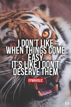 Daily fitness motivation in order to achieve your goals in the gym. Tiger Quotes, Lion Quotes, Animal Quotes, Me Quotes, Motivational Quotes, Inspirational Quotes, Qoutes, Gym Quote, Warrior Quotes