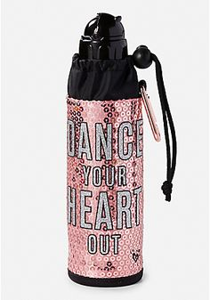 Dance Your Heart Out Sleeved Water Bottle Swag Outfits For Girls, Cute Outfits For Kids, Galaxy Backpack, Unicorn Fashion, Cute Water Bottles, Diy Clutch, Cute School Supplies, Swim Shop, Bottle Holders