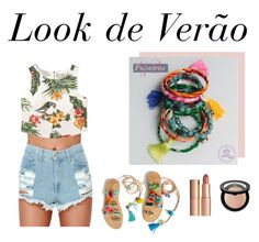 Sem título #9 by cahsh3 on Polyvore featuring polyvore, MANGO, Sephora Collection, Charlotte Tilbury, fashion, style and clothing