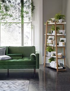 The Scott 3 seater sofa blends a sleek silhouette with a buttoned seat cushion for a statement look. Upholstered in plush green velvet for an additional layer of sophistication. Made for lounging with a deep, sprung seat and feather-fibre mix cushioning. Fresh comfort awaits.: