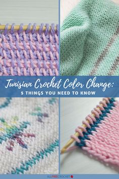 Hottest Photographs Tunisian Crochet color change Strategies Learn all about with this guide, Tunisian Crochet Color Change: 5 Things You Need All Free Crochet, Easy Crochet, Knit Crochet, Spiral Crochet, Crochet Cross, Crochet Granny, Lace Knitting, Change Colors In Crochet, Color Change