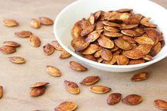 Halloween Recipes: Roasted Pumpkin Seeds Recipe