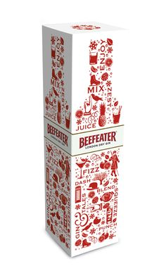 Beefeater Winter Edition Packaging Design - Coley Porter Bell