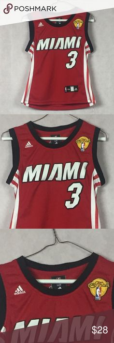 NBA Miami Heat Dwayne Wade Champion Jersey Size S NBA Miami Heat Dwayne Wade  Champion Jersey 9c2d9ca2b
