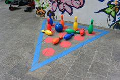 Pleinplakkers Kegel / Bowlingspel incl. Kegels + Bal