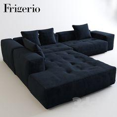Corner sofa Frigerio Cooper