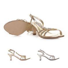 #Wedding #Cheap #Shoes #Kitten_Heels