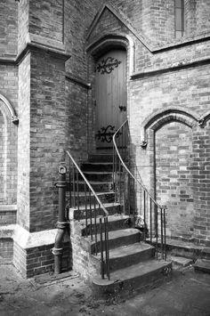 Stairs, Windsor, England.