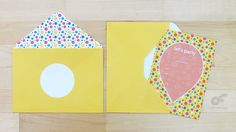 Fill-in-the-blank Party Invitation  Balloon and Polka by CFinDesign