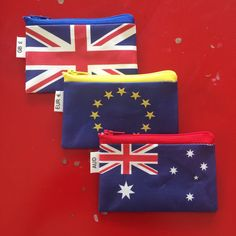 Travel a lot? ✈️ Get these cute coin purses to keep your 🇦🇺 AUD 🇪🇺 Euros 🇬🇧 GB Pounds or any other currency you use often! ✈️ www.efratul.etsy.com