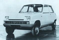 OG | 1972 Renault 5 | Full-size mock-up
