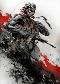 Metal Gear Solid Old Snake