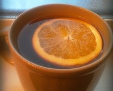Orange Ginger Tea