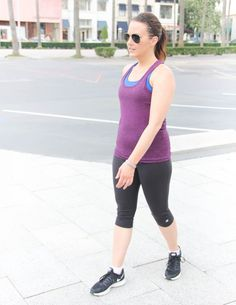 Fitbit Flex 2 Review   Workout Clothes for Women   Lady in Violet   Houston Style Blogger