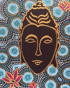 Buddha Fina Art Print by TinaKStudio on Etsy