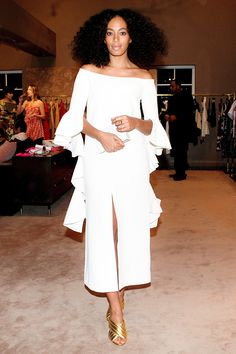 Solange Knowles attends Lizworks launches: 'Jungle of Eden' by Paola Pivi held at The Webster Miami in Miami Beach