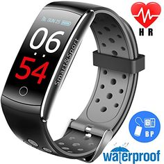 Ambitious Smart Watch Sports Fitness Activity Heart Rate Tracker Blood Pressure Watch Fitness Tracke Sleep Monitor Calories Burnt Wearable Devices Smart Watches