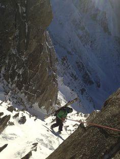 Skiing in Chamonix, #France -- #travelstoke x 100000!