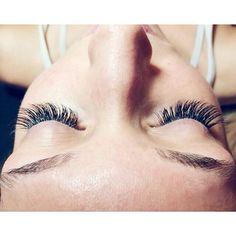 Just doing what she loves!!! Creating another Beautiful full set of lashes... Lashes by Kaitlyn 801-223-9356 #everysinglelash #lashes #lashextensions #volumelashes #fulllashes #thicklashes #longlashes #nomascara #Padgram