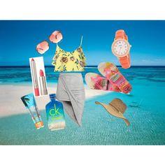 beachy !! by richa-thakkar on Polyvore featuring polyvore fashion style Topshop H&M Havaianas Kate Spade Michael Kors Billabong Ilia CK One