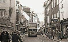 Christmas in Cambridge Cambridge England, Honeymoon Night, Coaches, Back In The Day, Norfolk, Buses, Old Photos, Past, Nostalgia