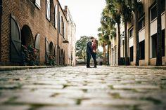 Downtown Charleston Engagement Photos | Erin Morrison Photography www.erinmorrisonphotography.com
