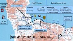 Operation Overlord - Normandie, France - June 6, 1944