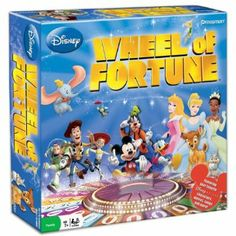 Amazon.com: Disney Wheel of Fortune: Toys & Games