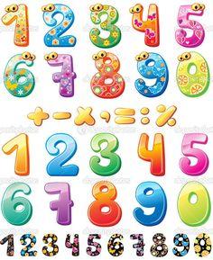 фото цифр для детей
