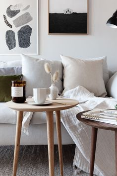 Living room update with MYCS - via Coco Lapine Design blog