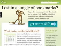 #mashboard #startup #curation tool make sense of your bookmarking jungle in #socialmedia