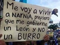 """"""" I'm moving to Narnia. I prefer being governed by a Lion rather than a donkey. Spanish Memes, Spanish Quotes, Simpsons Frases, I Love Books, Funny Images, True Stories, Feminism, Haha, Hilarious"""