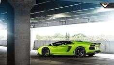 "Lamborghini Aventador ""The Hulk"","