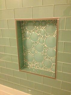 Tile Bathroom Trim metal trim for large tiles with no bullnose option.   home